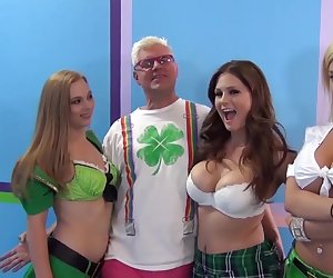 St.Patrick's pornstar orgy party! Vol.5