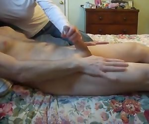 Wife Jerking Me Off_ CFNM_240p