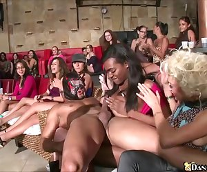 Huge Blowjob Party