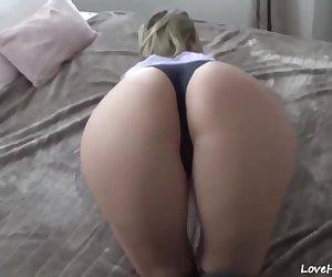 Butt fucked amateur MILF
