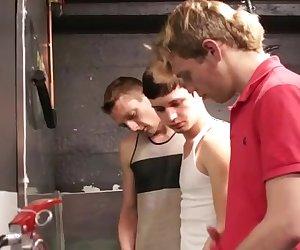 Bray Love, Tony Knight and Cassidy Hayes