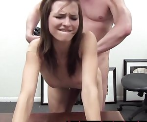 Amateur Does Anal With The Pretend Casting Agent