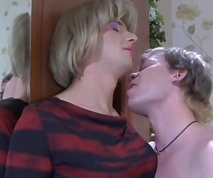 Roland and Silvester kinky gay crossdresser movie