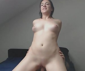 Wife Rides Her Husbands Cock For Cumshot On Tits