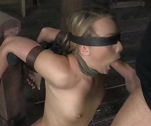 We modified a wooden bondage device for AJ Applegate