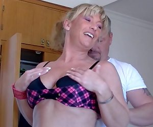 Two German housewives getting really kinky and naughty