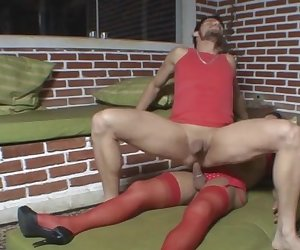 joyce and edu shemale pantyhose video