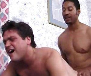 White Gay Interracial Anal