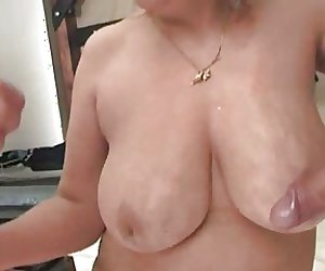 two matures women fucked by a group of young guys