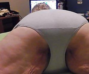 new gray panties a fan sent me