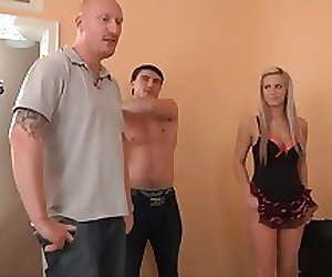 Dudes Watch Their Girls Get Fucked-Part1
