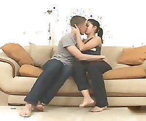 Hot Sex scene of Young Russian Couple