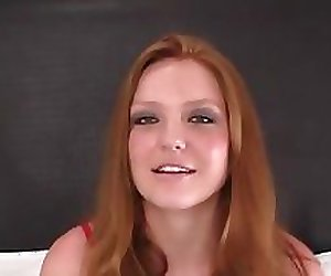 Amateur Redhead Fucked and Facialed