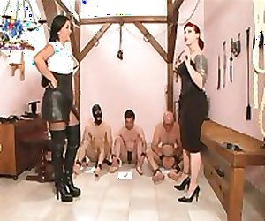 3 Slaves Humiliated!!!