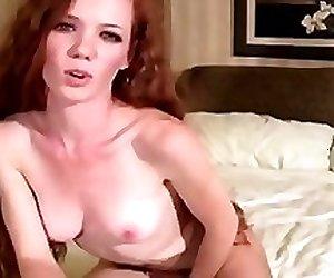Caramel sweetheart in pantyhose