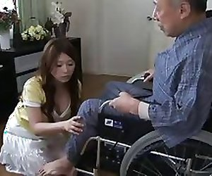 Mirai Haneda - 01 Young Wife and Old Man