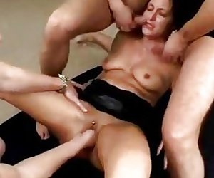 German girl fucked, fisted and faciakized