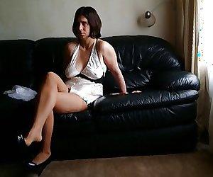 Sexy Chell Nipples Through Shirt 059