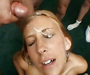 FACES OF CUM : Krista Lynn 2