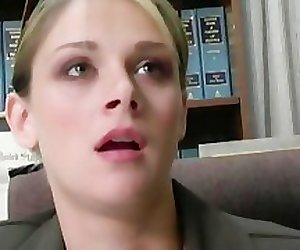 Black men seek revenge on white female lawyer