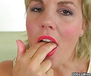 British milfs Danielle and Lulu need orgasmic pleasure