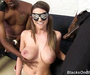 Brooklyn Chase - Interracial Gangbang