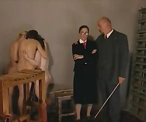 Teen caned and then shown again in slow motion