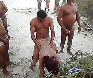 deu gostoso na praia