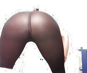 See through legging