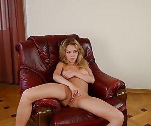 Danica aka Delilah G aka Natalia armchair fuck