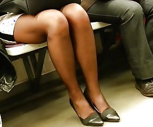 Hot Mature in Pantyhose,with Face