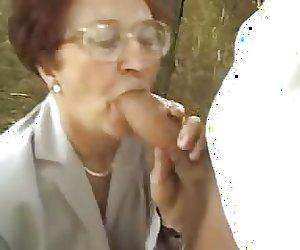 Abuela chupona