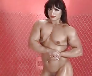 nude muscle woman with big clit