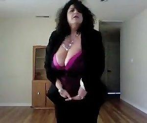 My bbw mom huge tits lover