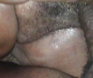 Hairy pussy Black bbw granny