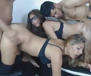 Hot big asses latinas got doggy fuck