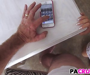 Banging his hot stepdaughter Brooke Bliss