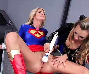 Amazing pornstars Amanda Tate and Tanya Tate in hottest blowjob, masturbation porn video