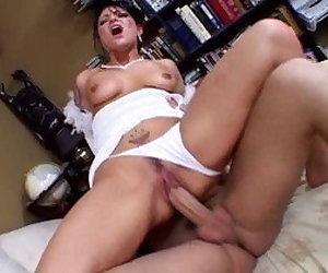 Amazing pornstar Katrina Kraven in horny brunette, anal sex clip