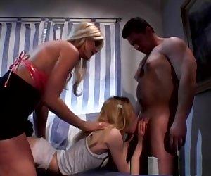 Best pornstar Michelle M. in crazy blonde, mature xxx clip